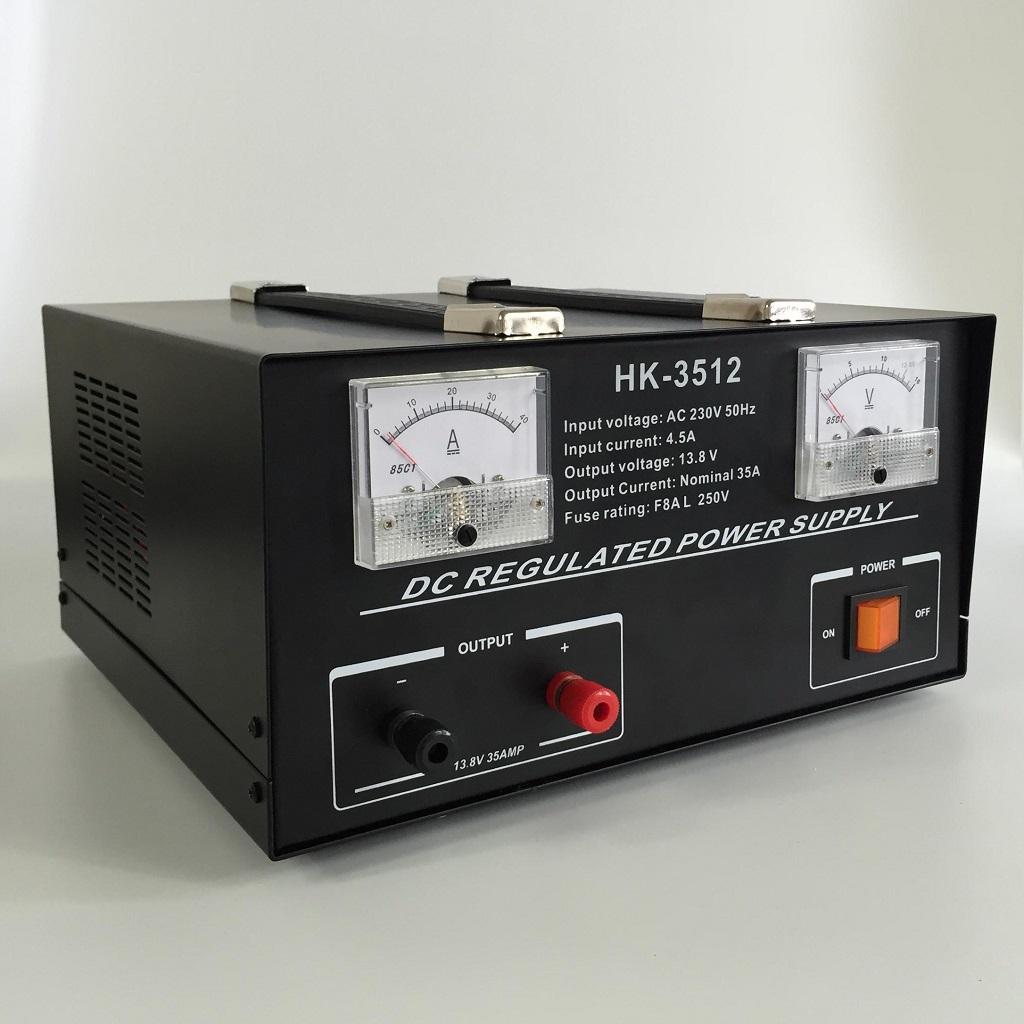 HOKOG HK-3512 35AMP 13.8VDC Linear power supply