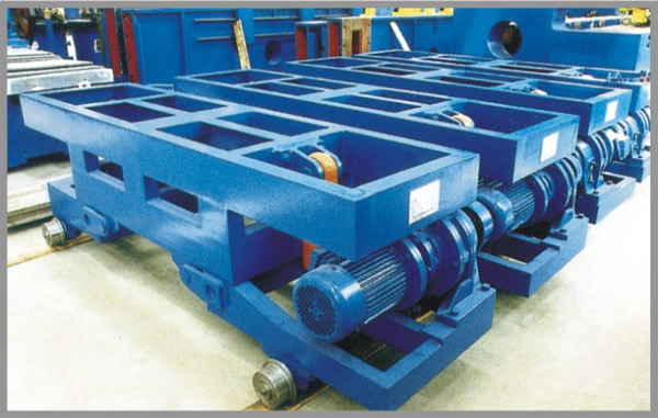 Conveying machine for H beam or Box column