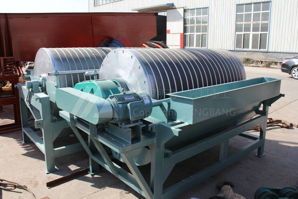 Wet Magnetic separator with ISO9001-2008