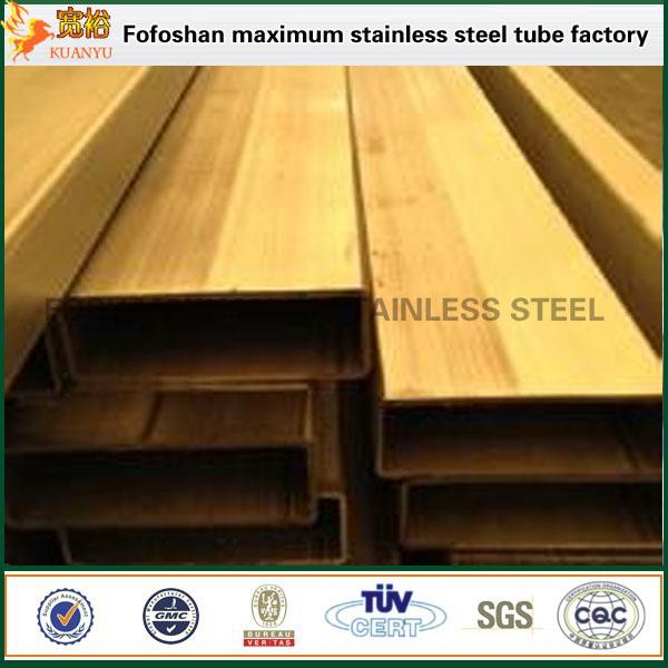 polishing stainless steel rectangular pipe