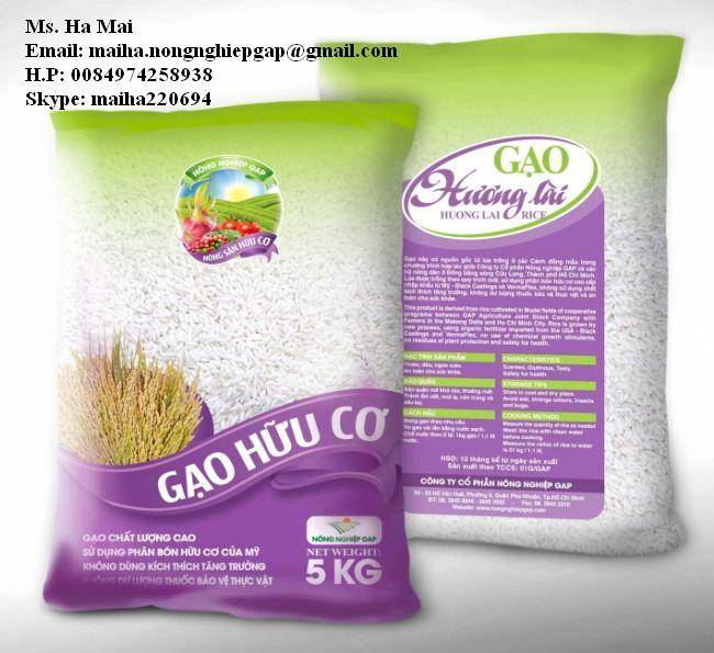 HUONG LAI 5% BROKEN LONG GRAIN RICE FROM VIETNAM MS HA 84974258938