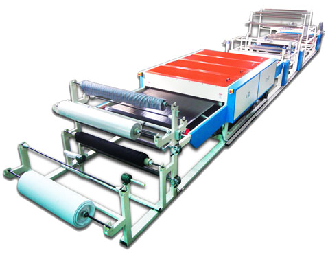 HM-F Hot Melt Adhesive Films Fusing Press&Laminating Machine