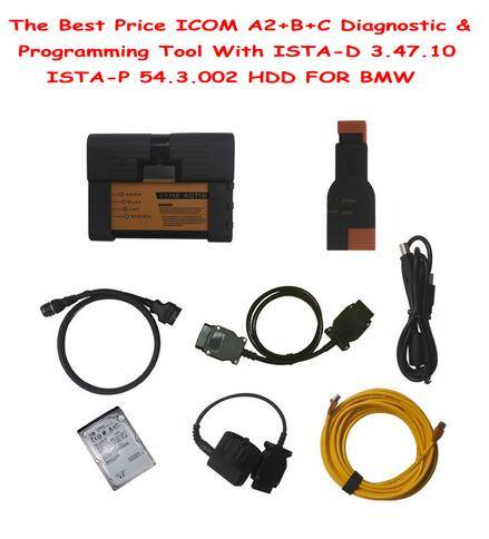The Best Price ICOM A2+B+C Diagnostic & Programming Tool With V2016.03 ISTA-D 3.53.13 ISTA-P 3.57.4.