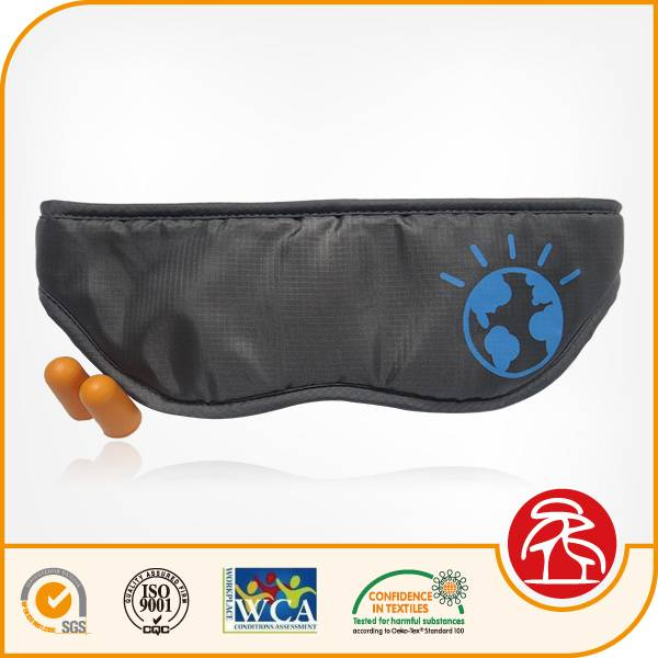2016 new design polyester sleep eye mask