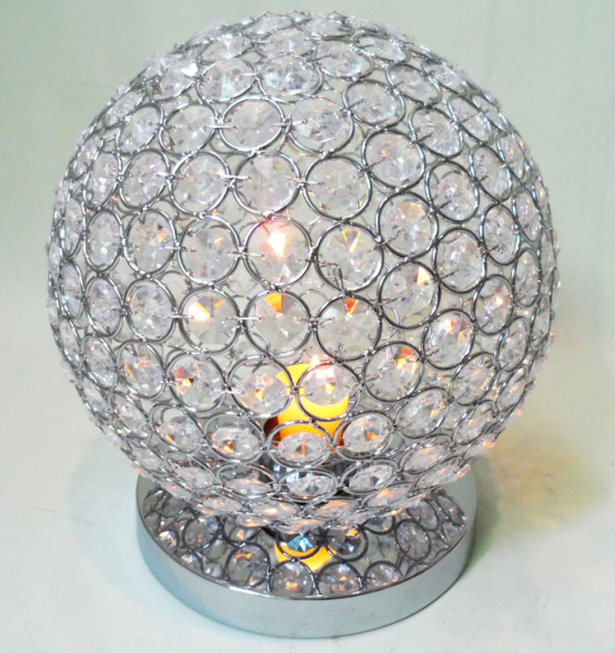 Wholesale Cheap Metal Crystal Table Candle holder