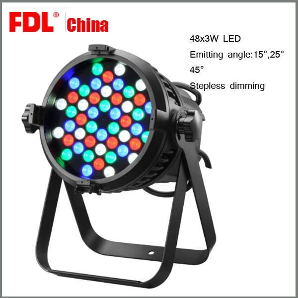 48 pcs 3w stage LED par light
