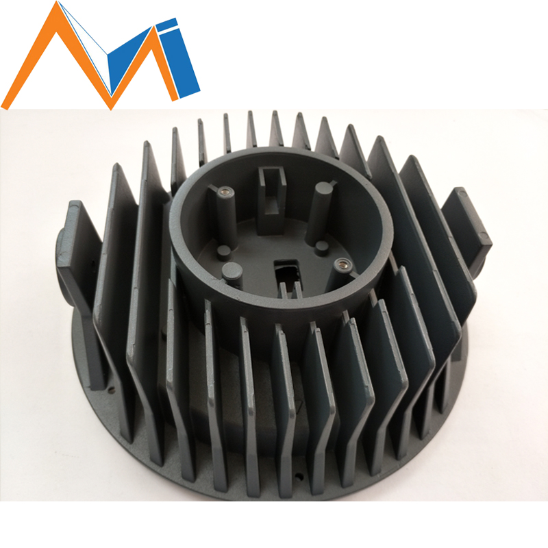 China Factory Aluminum Alloy Die Casting with Car Radiator (ADC10)