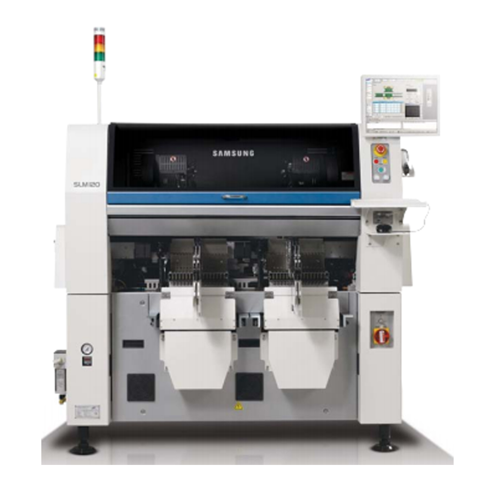 Samsung SLM-120 led chip shooter lens chip mounter for LED assembly line