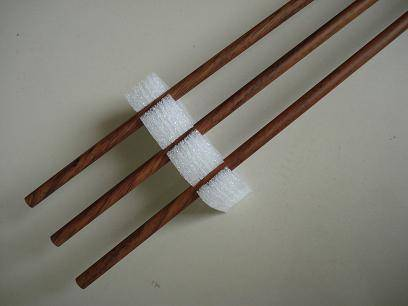 wood surface carbon arrows