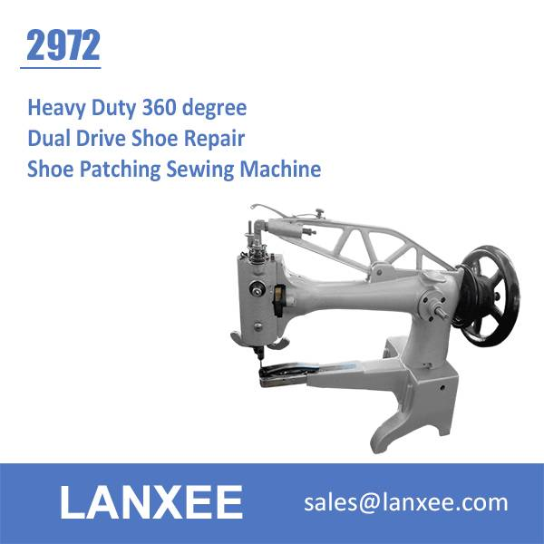 Lanxee 2972 Shoe Repair Shoe Patching Sewing Machine