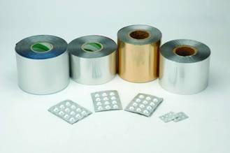 pharmaceutical cold formed alu alu foil for tablet package