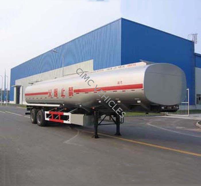 Carbon Steel Fuel Tank Semi-Trailer with 2 axles 28000L