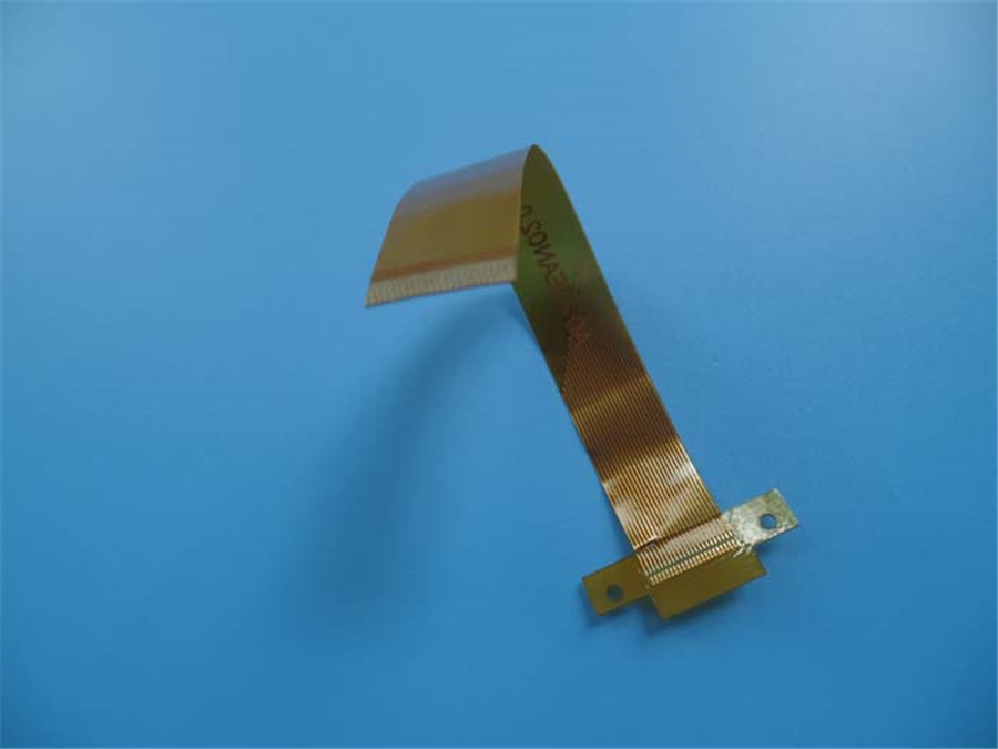 Double access flexible PCBs 2 Layer PCB Board Manufacturing Immersion Gold Polyimide PCBs