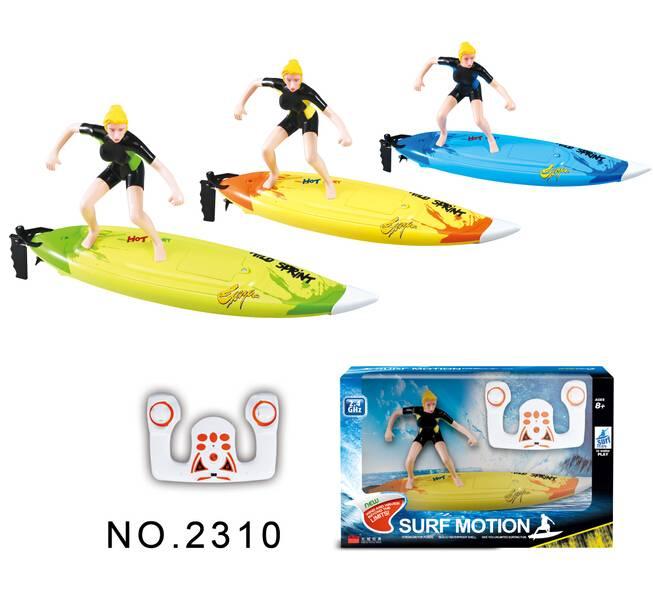 2.4G remote control surfer