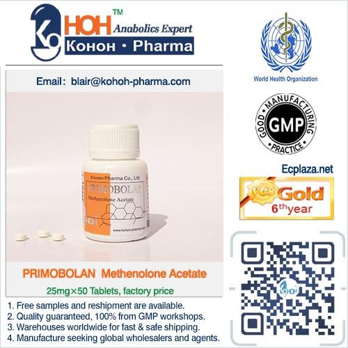 Primobolan Methenolone Acetate Tablets Steroids Powder Ankoh keifei