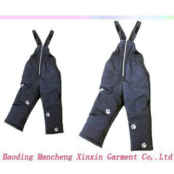 Children's winter pants