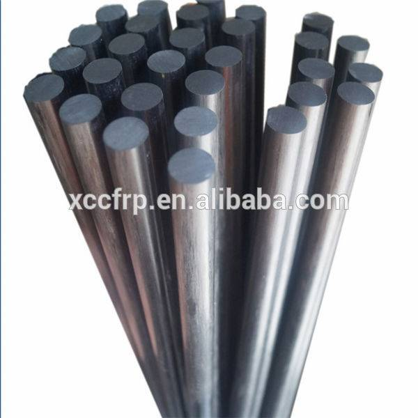 Factory high quality carbon fiber fishing rod blank, solid carbon fiber rods