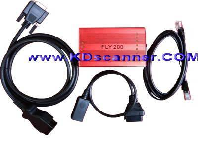 FLY200 supports 30 languages  launch x431 code reader scanner diagnostic can bus code reader scanner