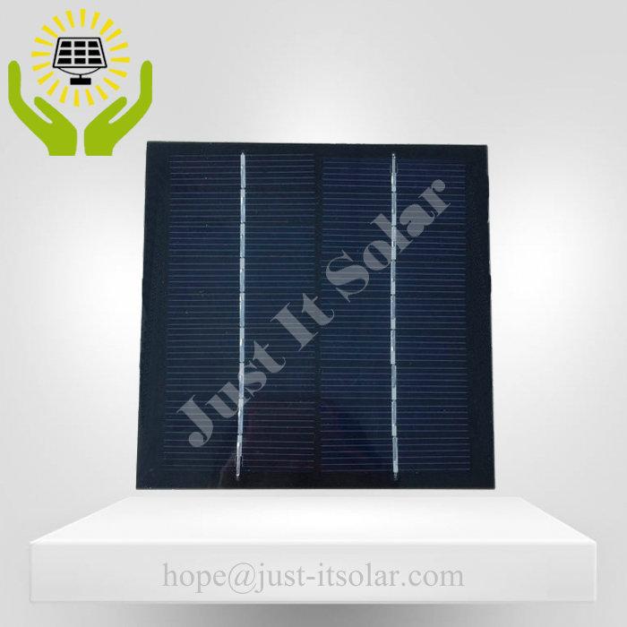 9V 200mA 1.8W PET Laminated Solar Panel
