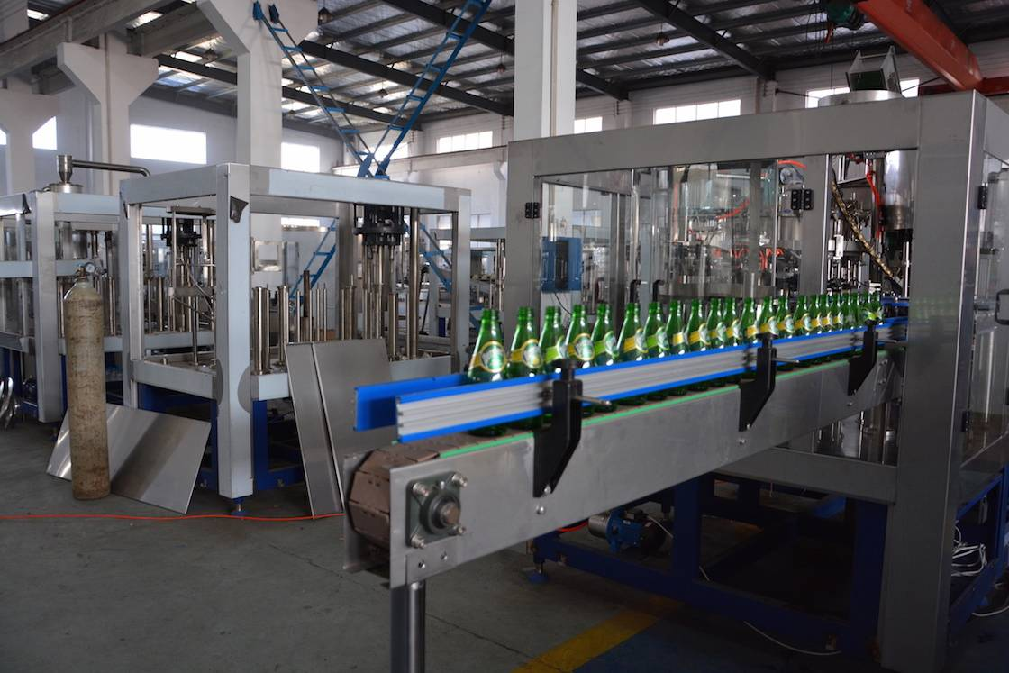 Glass Bottle Juice Hot Filling Machine