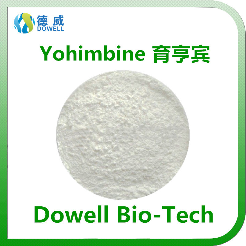 Factory supply male inhancement powder Yohimbine 98% HPLC