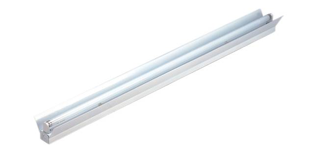 T8 fluorescent tube bracket with cover