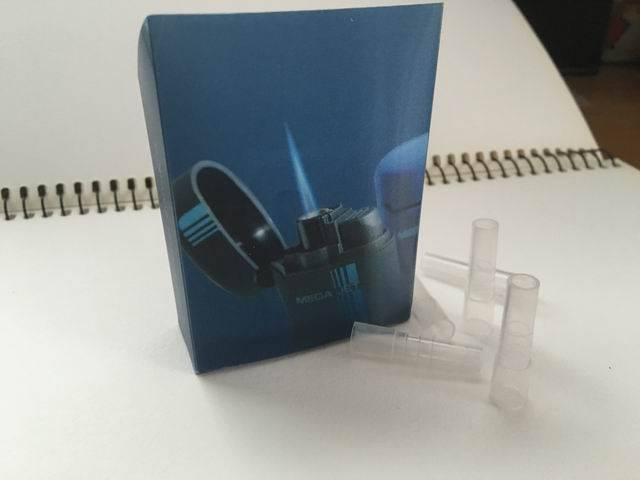 factory price disposable cigarette plastic tips tobacco packing with 3D logo