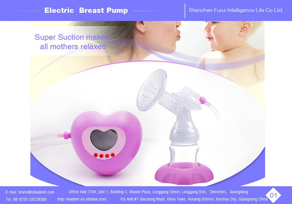 Super mute single electric breast pump with great suction