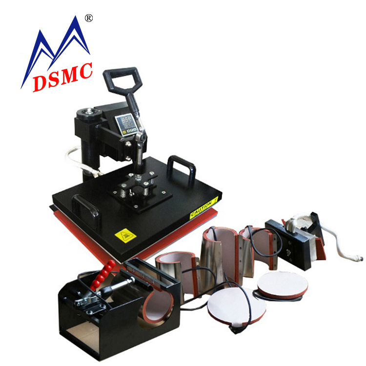 High quality 8 in 1 heat press printing machine