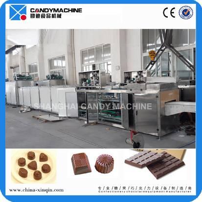 Newly full automatic chocolate machine