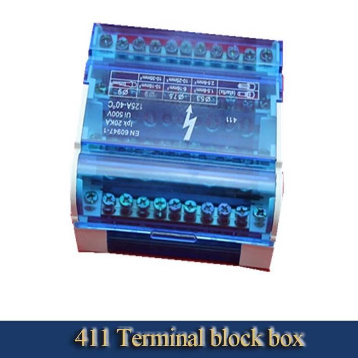 411 type terminal block box