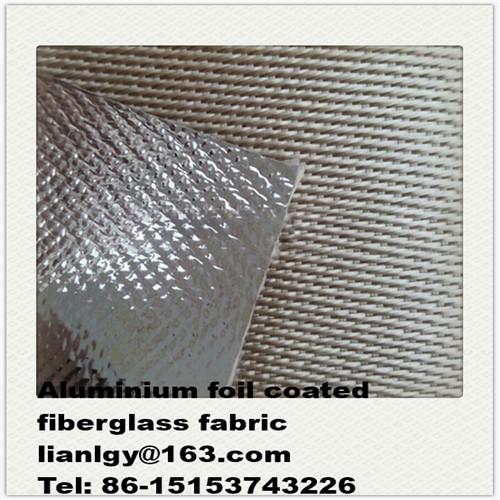 Aluminium foil laminated Fiberglass Faric Cloth