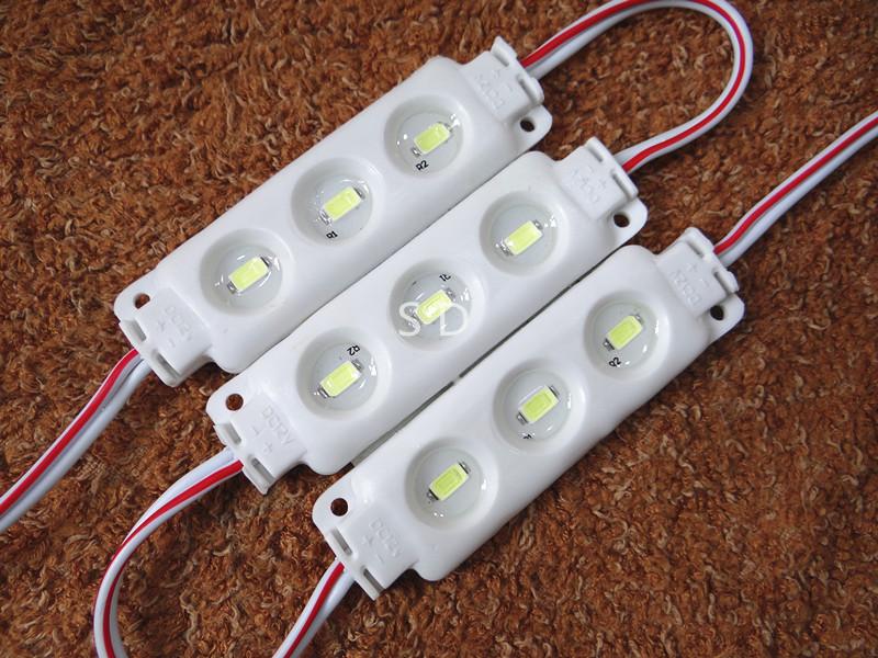 hot sale 5730 3 led module dc12v waterproof module IP65 5050/5054