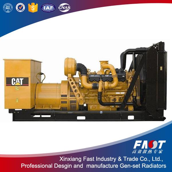 Good quality 3516E CAT diesel generator radiators on sale