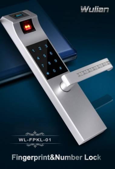 wireless fingerprint & number lock