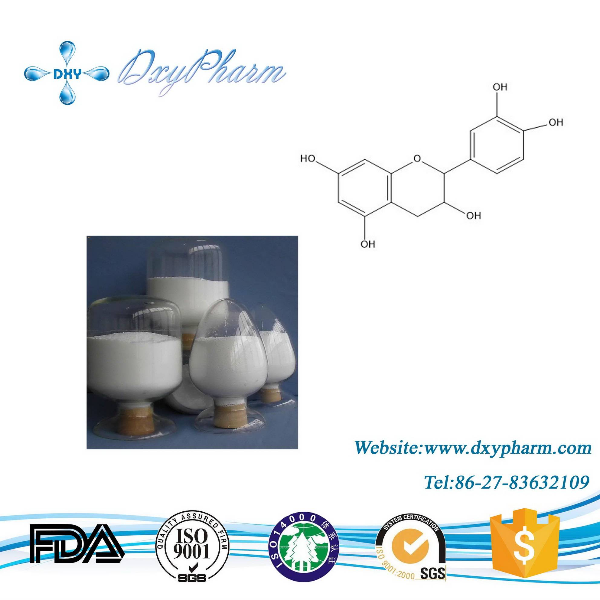 Plant Extract Epicatechin CAS:490-46-0