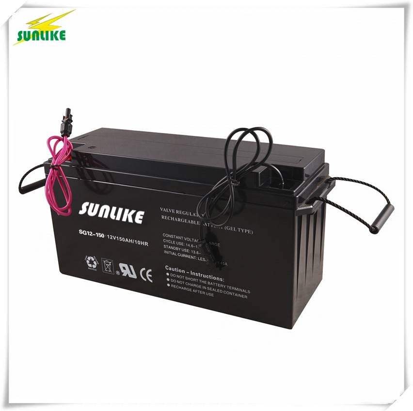 Factory Wholesale 12V150ah Solar Gel Battery with Long Life