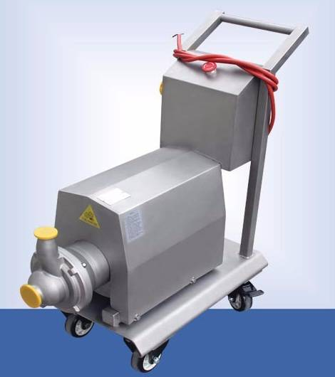 Sanitary stainless steel CIP self-priming wine,oil pump