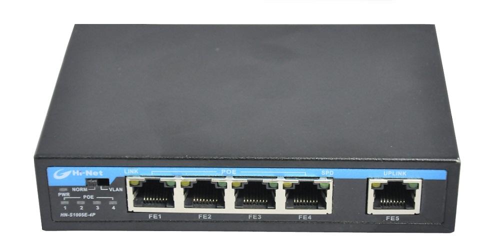 5 Ports POE switch fast ethernet POE switch