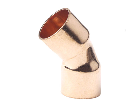 45 degree copper elbow C x C type (copper elbow, copper fitting)