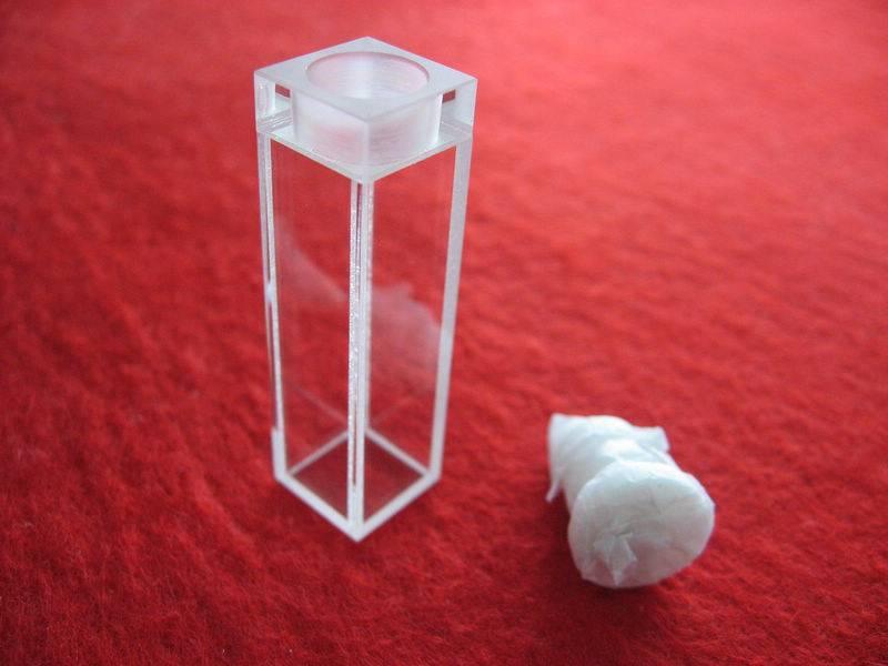 Standard quartz glass cuvette/cell