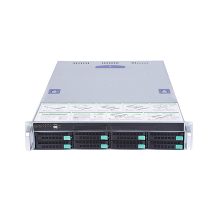 2U RACKMOUNT HOTSWAP 8 HDD Bay SERVER CASE