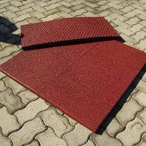Recycled Rubber Safety Tile
