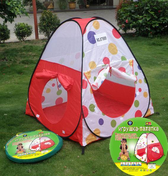 Red dot kid's tent/outdoor tents/Camping tents/pop up tent
