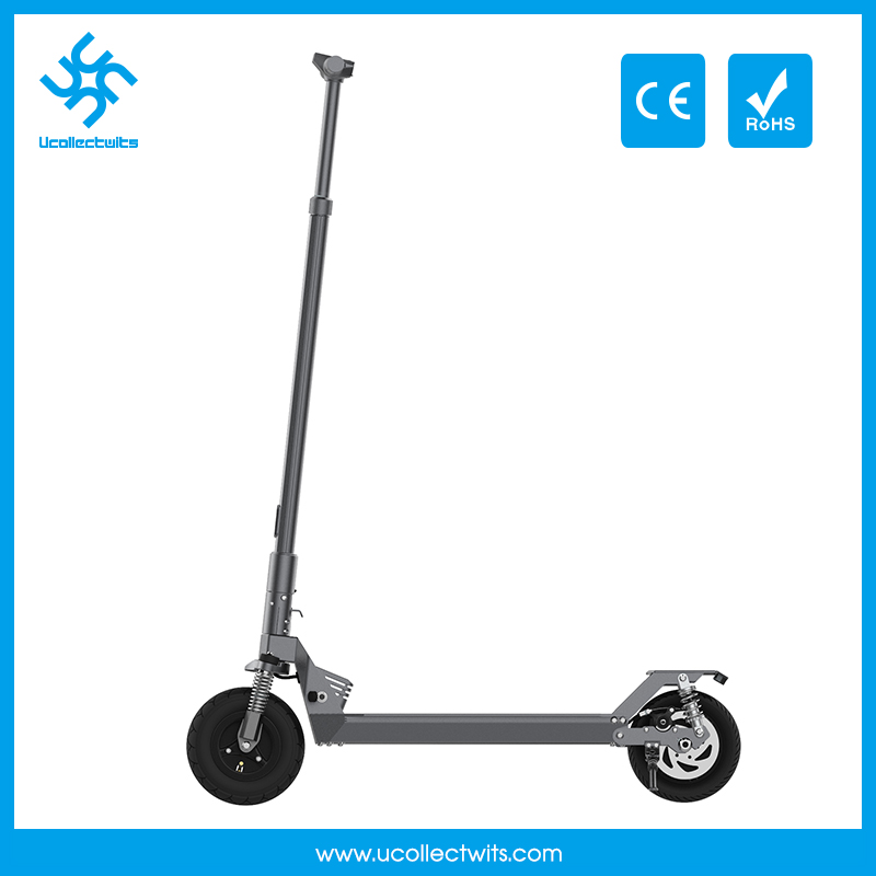 Ucollectwits U8b battery powered scooters grey electric adult scooter