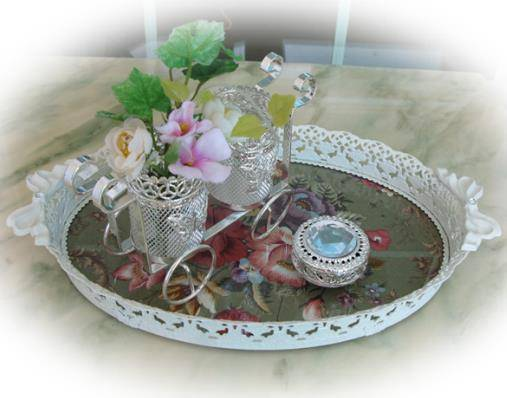 Rose Home Deco Tray