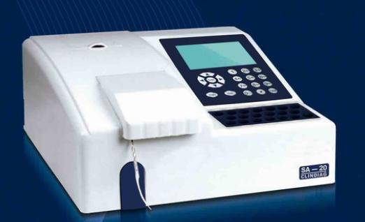 SA-20 Semi-automatic Biochemistry Analyzer