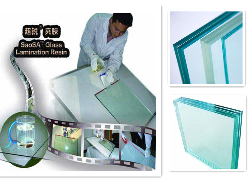 SAOSA CIP for laminated glass for burglar proof with EN356