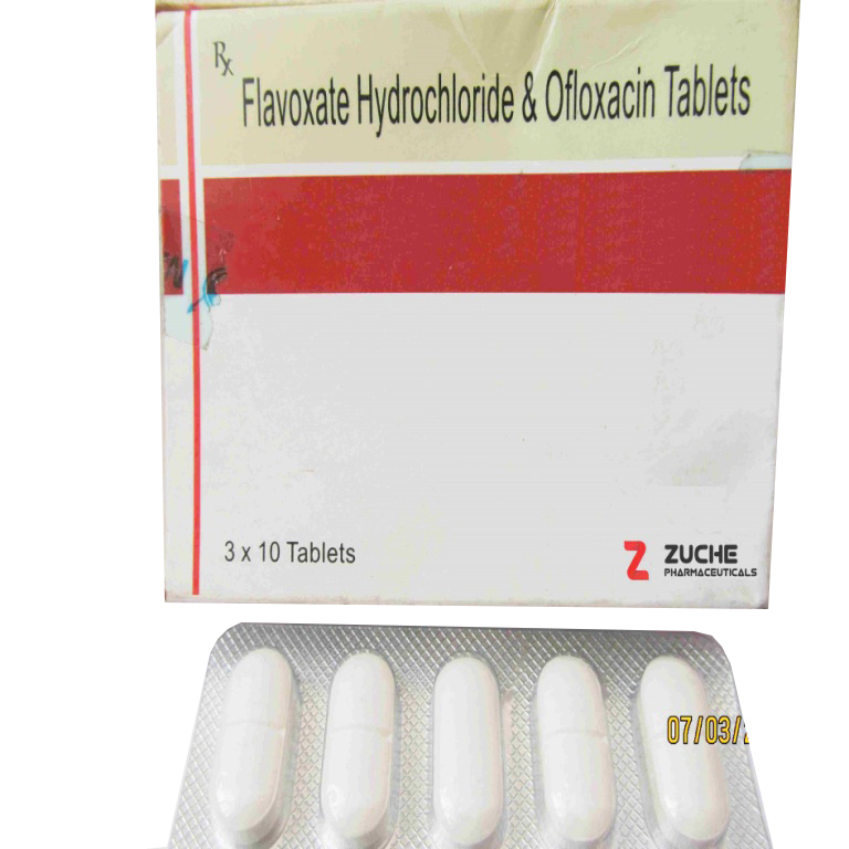 Flavoxate and Ofloxacin Tablets