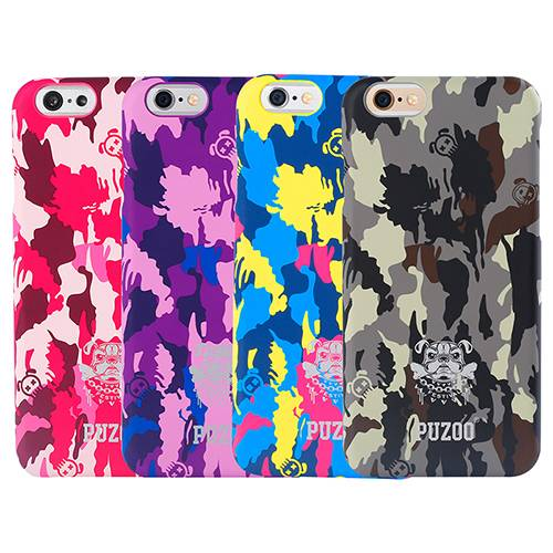 Puzoo I.ME hot selling high quality Rubber Coated PC Hard Case for iPhone